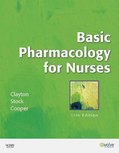 Basic Pharmacology for Nurses [With CDROM] 9780323057806