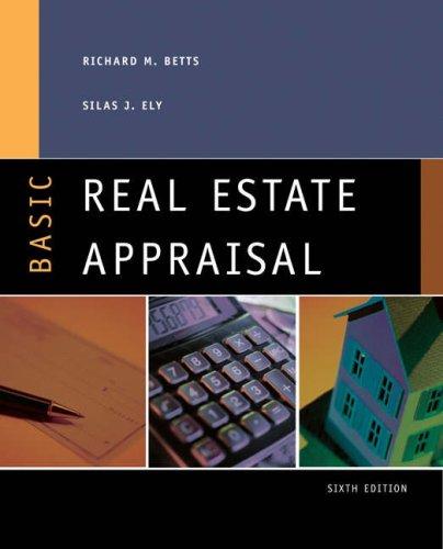Basic Real Estate Appraisal 9780324201468