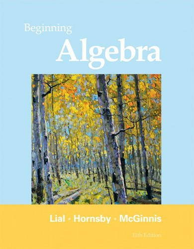Beginning Algebra 9780321673480