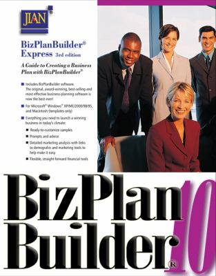 Bizplanbuilder Express: A Guide to Creating a Business Plan with Bizplanbuilder [With CDROM] 9780324421187