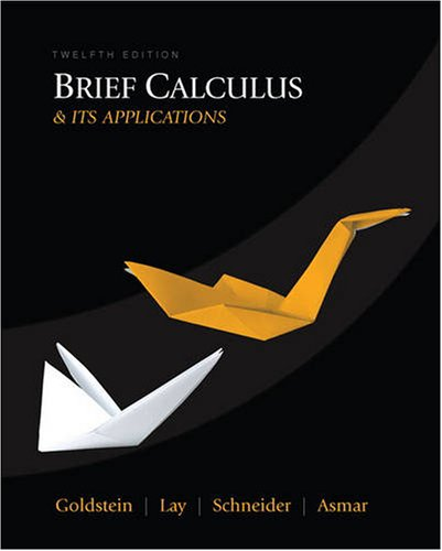 Brief Calculus & Its Applications