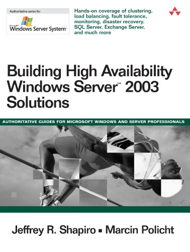 Building High Availability Windows Server 2003 Solutions 9780321228789
