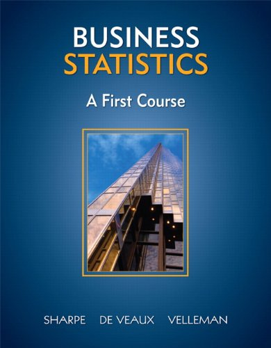 Business Statistics: A First Course [With CDROM] 9780321426581