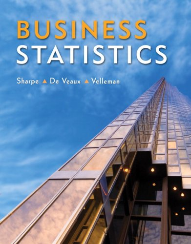 Business Statistics [With CDROM] 9780321426598