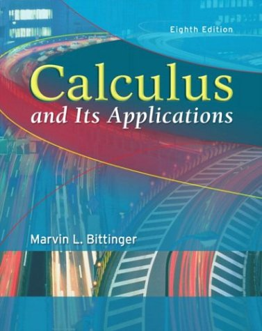 Calculus and Its Applications 9780321166395