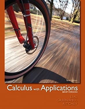 Calculus with Applications, Brief 9780321760012