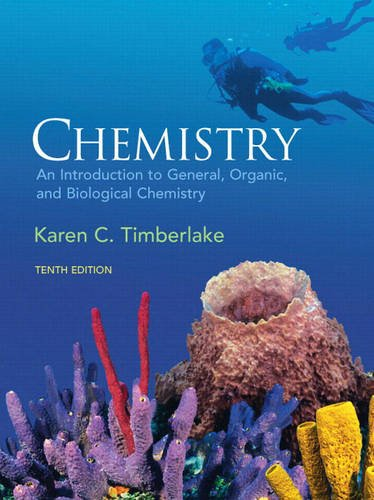 Chemistry: An Introduction to General, Organic, and Biological Chemistry [With Access Code] 9780321566935
