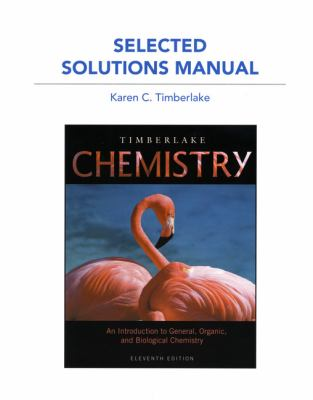 Chemistry: An Introduction to General, Organic, and Biological Chemistry, Workbook 9780321765215
