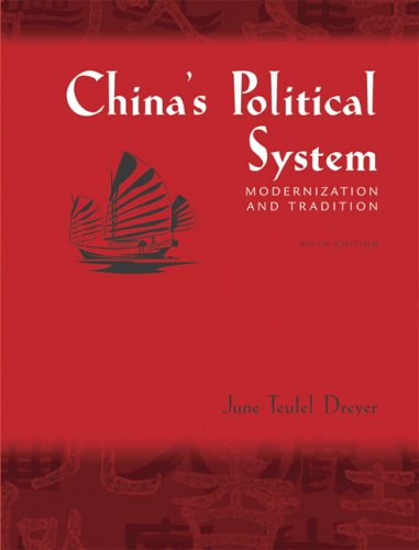 China's Political System: Modernization and Tradition 9780321355102