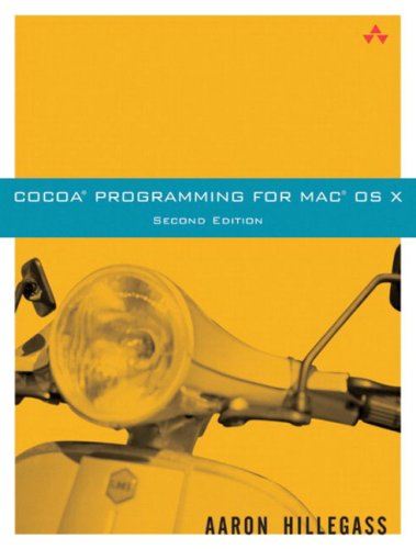 Cocoa(r) Programming for Mac(r) OS X 9780321213143