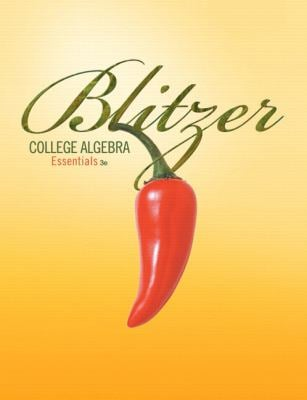 College Algebra Essentials [With CDROM] 9780321577818