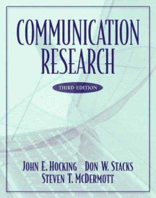 Communication Research 9780321088079