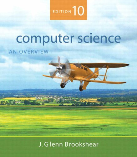 Computer Science: An Overview 9780321524034