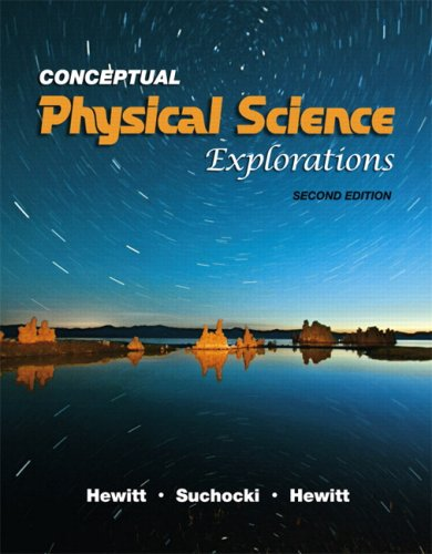 Conceptual Physical Science Explorations 9780321567918