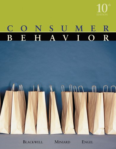 Consumer Behavior 9780324271973