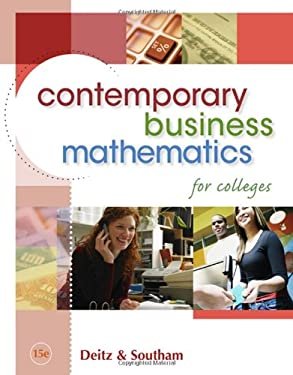 Contemporary Business Mathematics for Colleges [With CDROM] 9780324663167