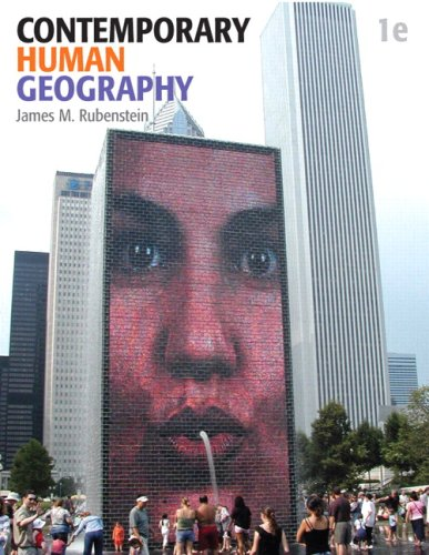 Contemporary Human Geography 9780321590039