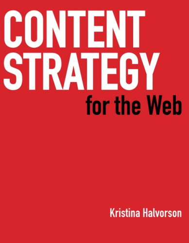 Content Strategy for the Web 9780321620064