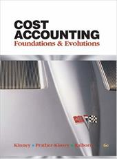 Cost Accounting Cost Accounting: Foundations & Evolutions Foundations & Evolutions