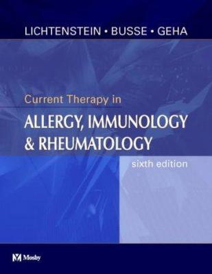 Current Therapy in Allergy, Immunology and Rheumatology 9780323017428