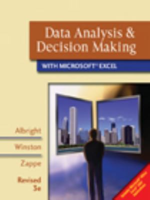 Data Analysis & Decision Making with Microsoft Excel [With CDROM] 9780324662443