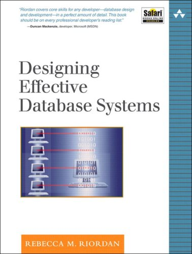 Designing Effective Database Systems 9780321290939