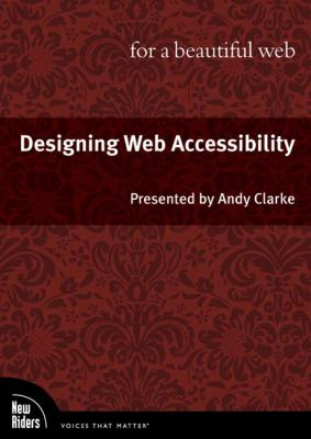 Designing Web Accessibility for a Beautiful Web, DVD 9780321680150