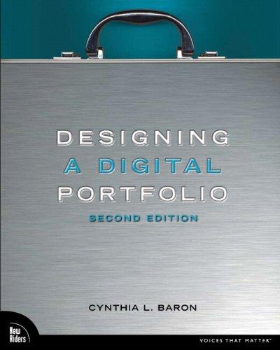 Designing a Digital Portfolio 9780321637512