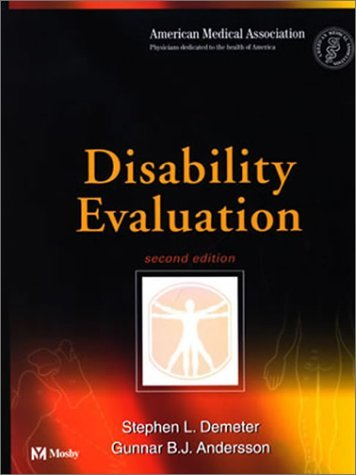 Disability Evaluation 9780323009591