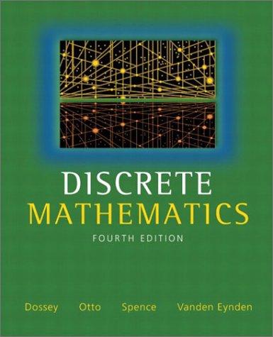 Discrete Mathematics 9780321079121