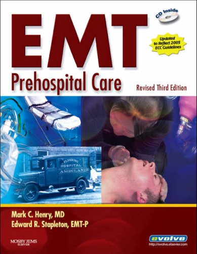 EMT Prehospital Care [With CDROM] 9780323048668