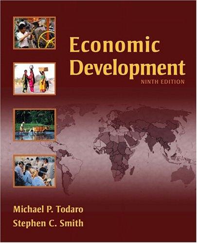 Economic Development 9780321278883