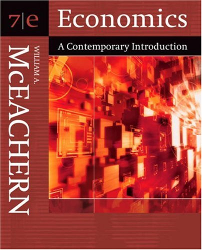 Economics: A Contemporary Introduction (with Infotrac) [With Infotrac] 9780324288605