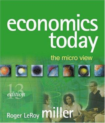 Economics Today: The Micro View Plus Myeconlab Student Access Kit [With Student Access Kit]
