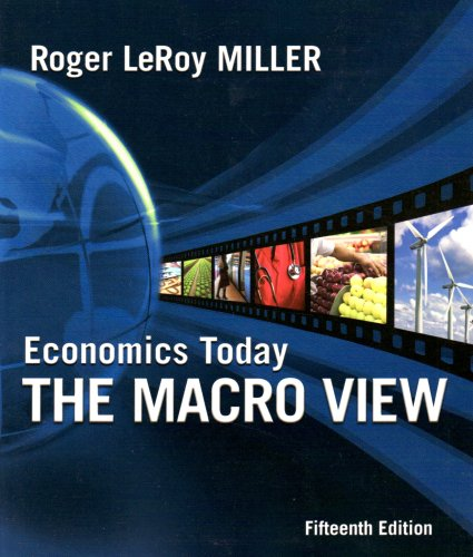 Economics Today: The Macro View 9780321594532