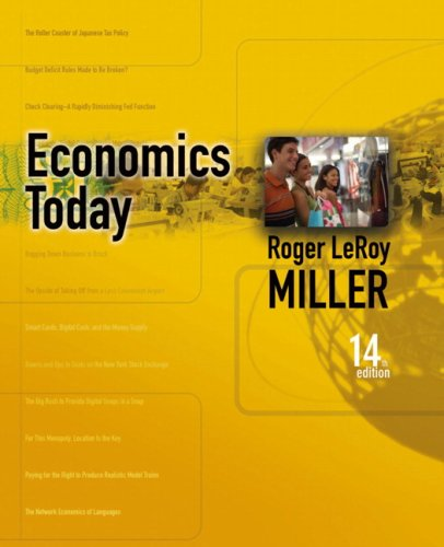 Economics Today [With Student Access Kit] 9780321422347
