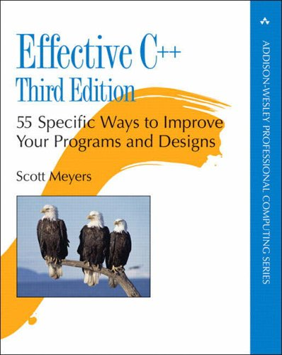 Effective C++: 55 Specific Ways to Improve Your Programs and Designs - 3rd Edition