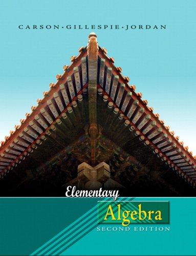 Elementary Algebra 9780321358370