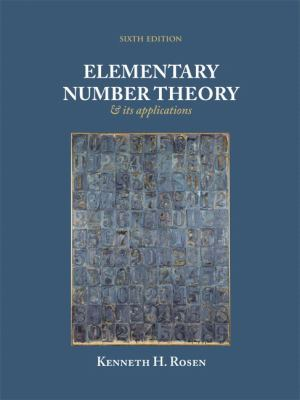 Elementary Number Theory: And Its Applications 9780321500311