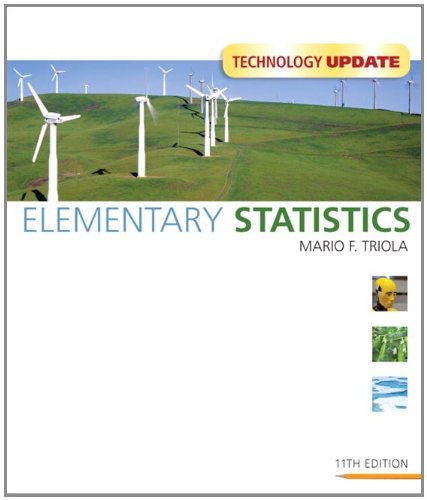 Elementary Statistics Technology Update [With CDROM] 9780321694508