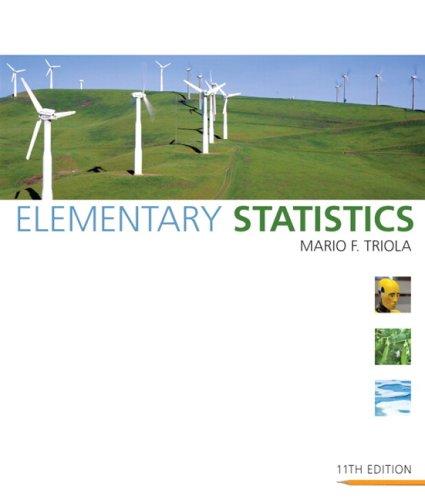 Elementary Statistics 9780321500243