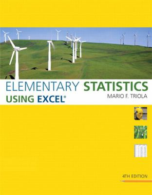 Elementary Statistics Using Excel Plus Mystatlab Student Access Kit 9780321565006
