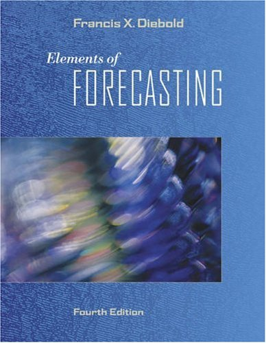Elements of Forecasting [With Infotrac and Access Code] 9780324323597
