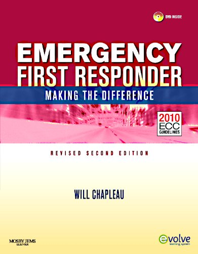 Emergency First Responder: Making the Difference: 2010 ECC Guidlines [With Rapid First Response 2/E] 9780323085212