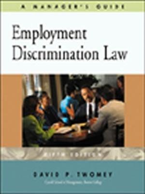 Employment Discrimination Law 9780324061994
