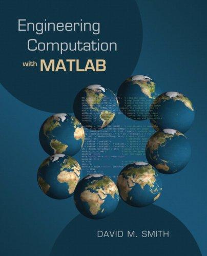 Engineering Computation with MATLAB 9780321481085