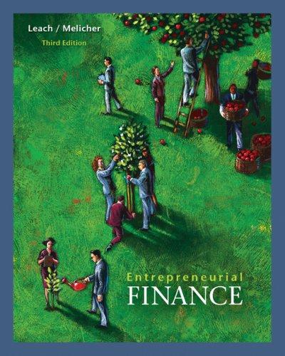 Entrepreneurial Finance 9780324561258