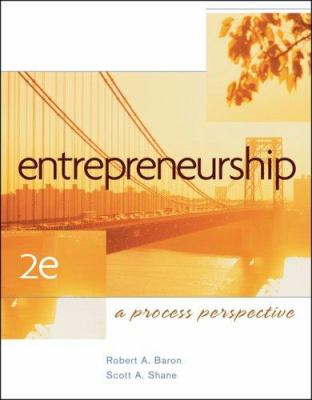 Entrepreneurship: A Process Perspective 9780324365580