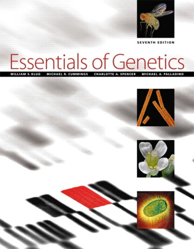 Essentials of Genetics [With Access Code] 9780321618696