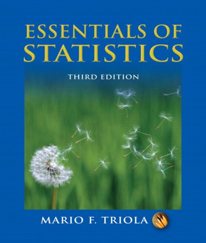 Essentials of Statistics [With CD-ROM] 9780321434258
